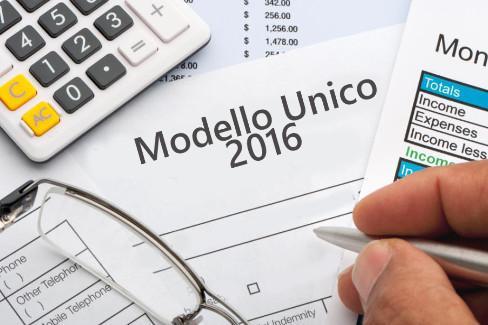 Modello Unico 2016